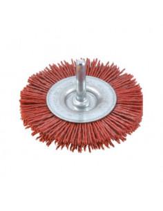 Cepillos circulares filamento abrasivo - Vástago 6mm (4.500 RPM)