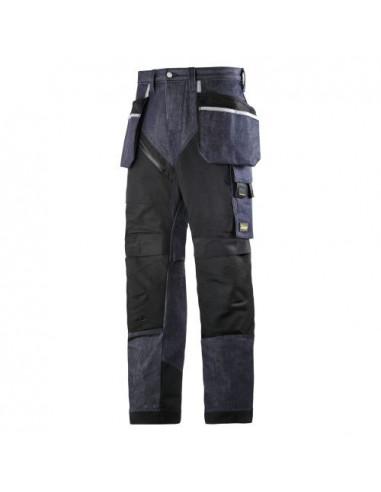 6205 Pantalón largo RuffWork Vaquero con bolsillos flotantes