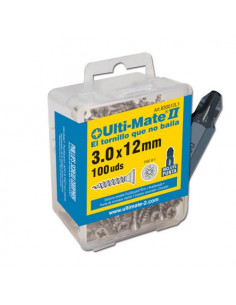 Tornillo de alto rendimiento Ulti-Mate II ZINCADO CAJA L1