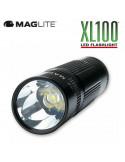 LINTERNA LED MAGLITE XL 100 120 MM AAA GRANATE