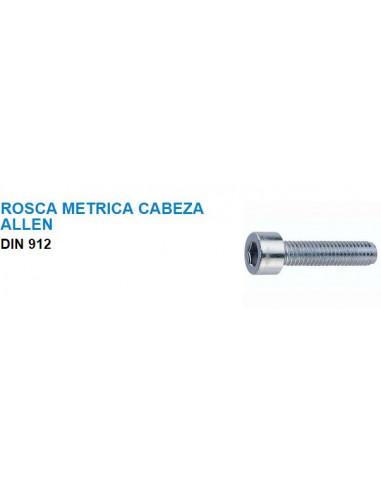 TORNILLO DIN 912 CALIDAD 8.8 M- 8X 25 MM CINCADO (100 UDS.)