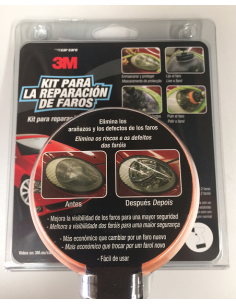 3M CAR CARE KIT REPARACIÓN FAROS 39073