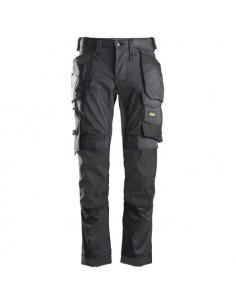 6241 Pantalón elástico AllroundWork Slim Fit bolsillos flotantes